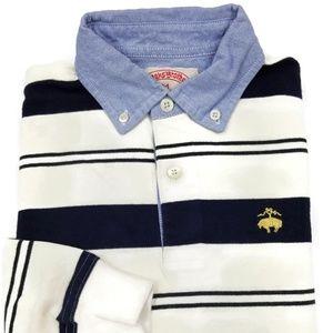 Brooks Brothers Long Sleeve Polo Kids Size Medium